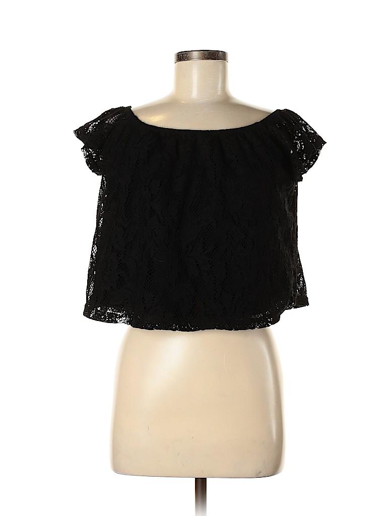 Rue21 Women Short Sleeve Blouse Size M