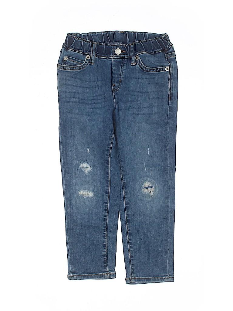 Uniqlo Boys Jeans Size 3 - 4