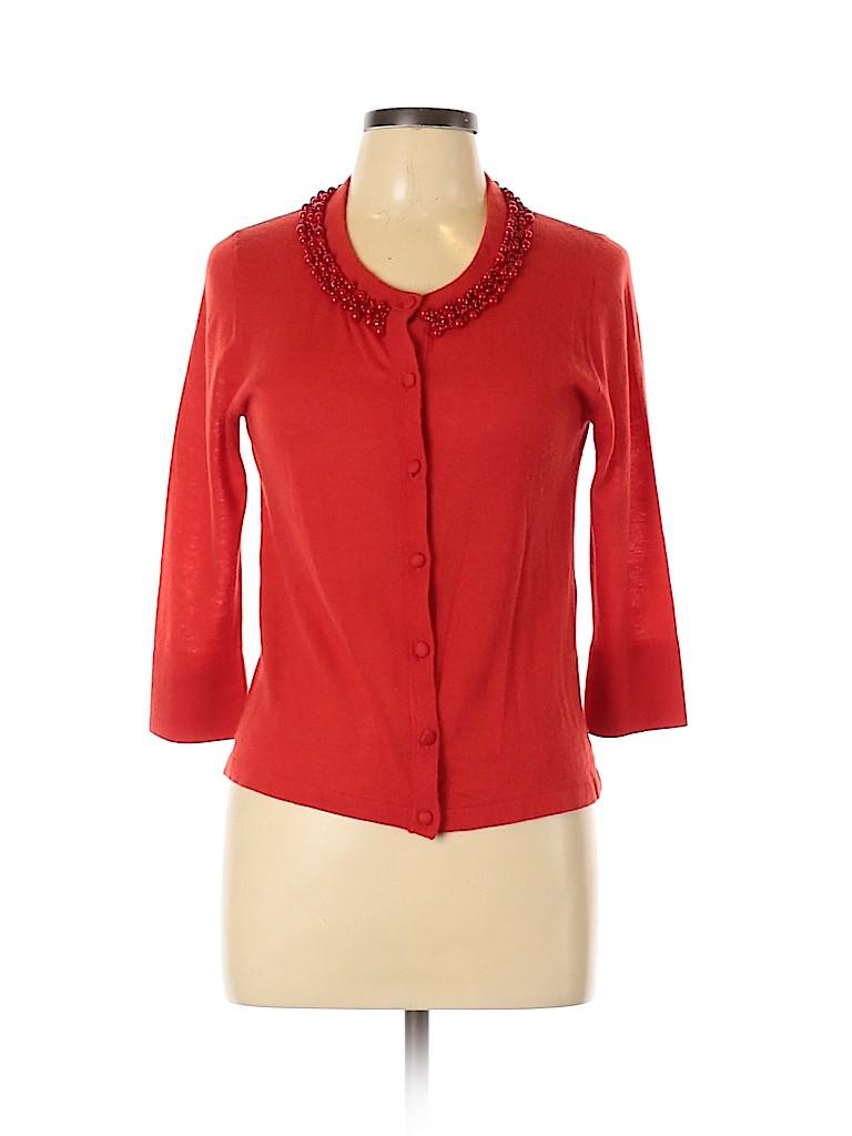 Kate Spade New York Women Wool Cardigan Size L
