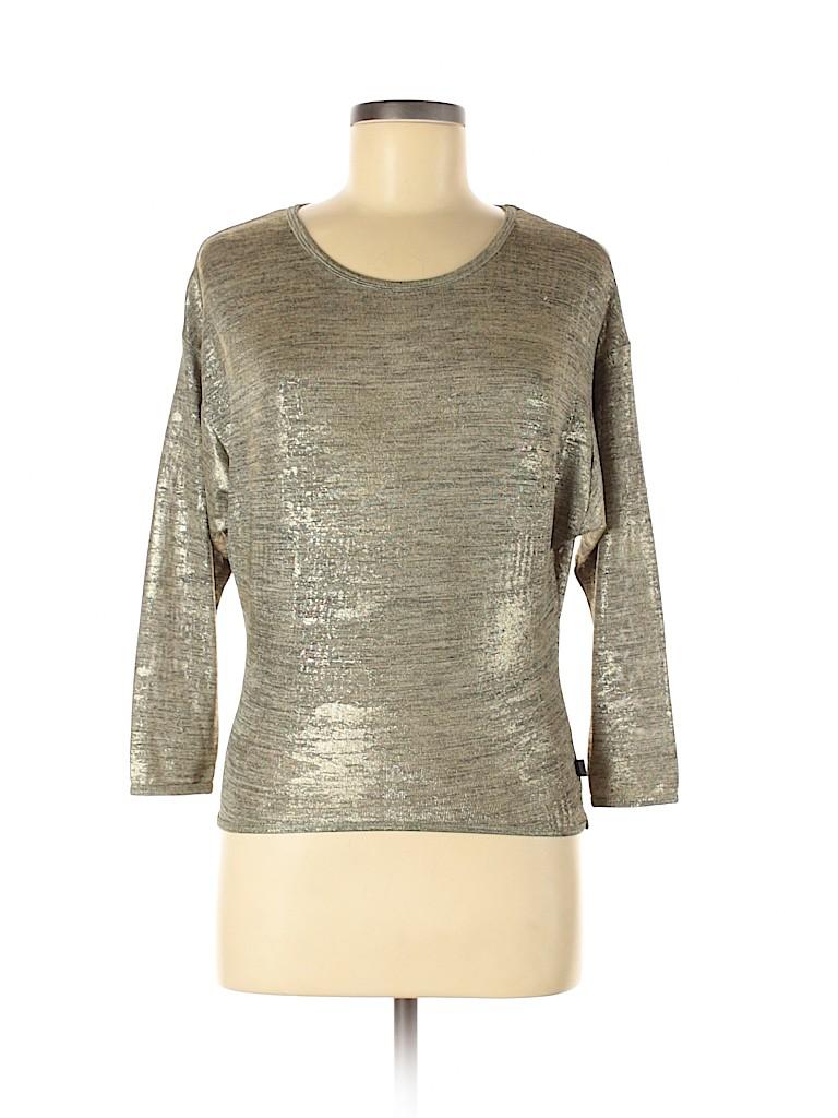 DKNY Women Long Sleeve Top Size M