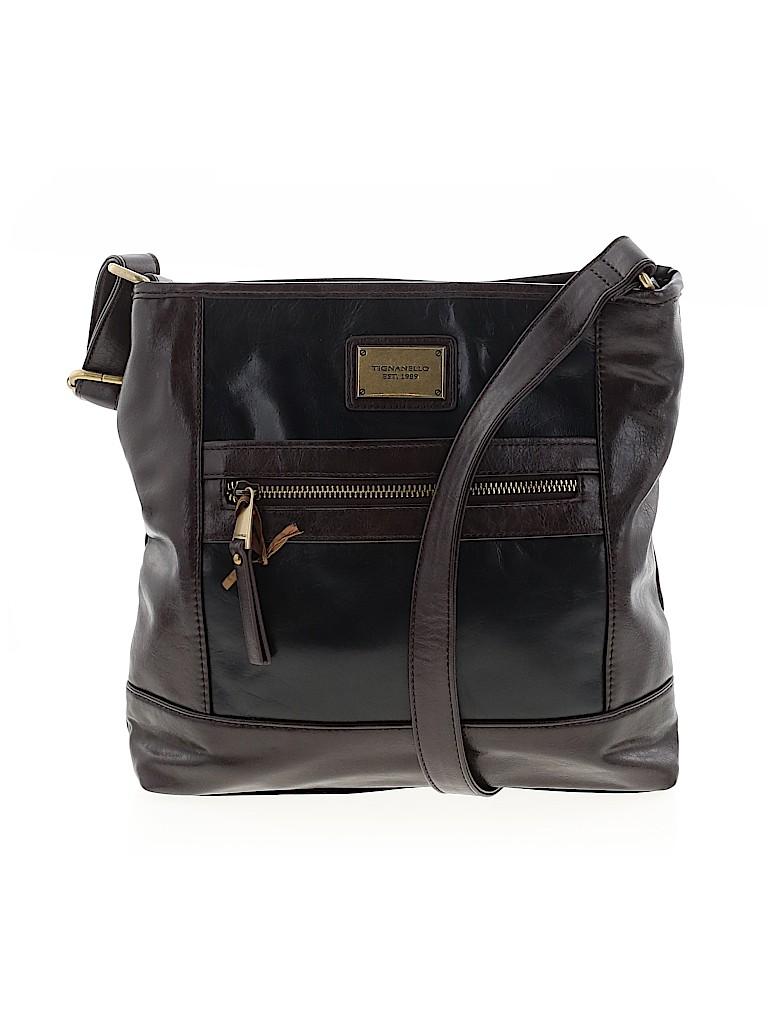 Tignanello Women Leather Crossbody Bag One Size
