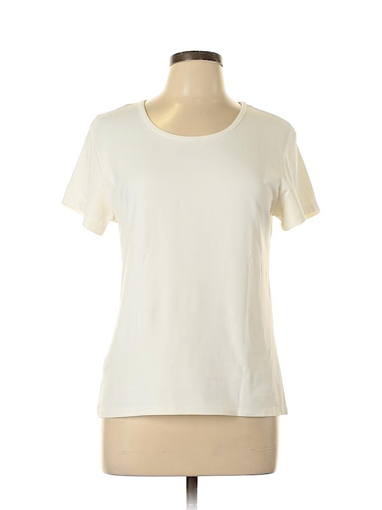 Birch Hill Women Short Sleeve T-Shirt Size L