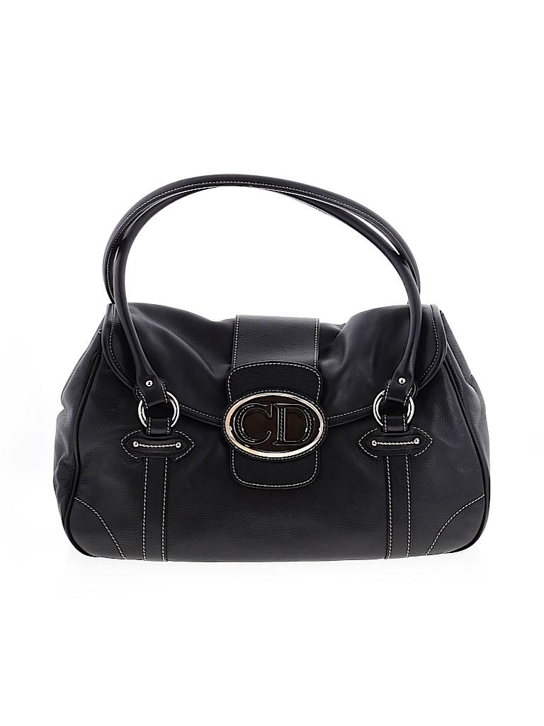Christian Dior Women Leather Shoulder Bag One Size