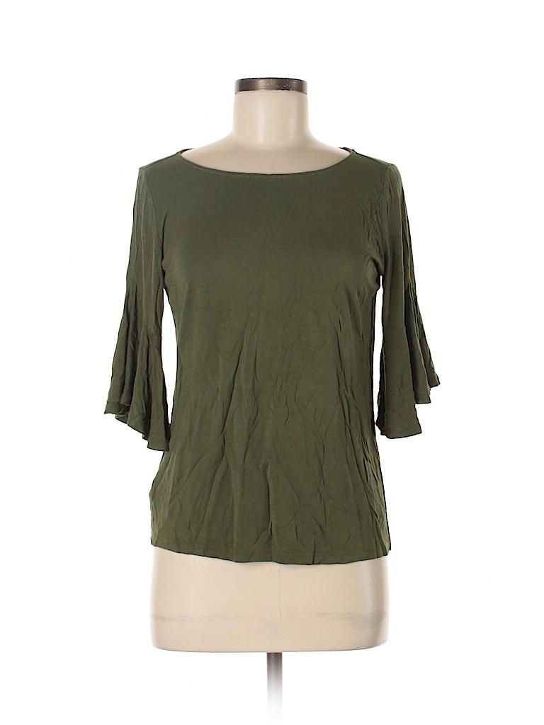 Ann Taylor LOFT Women 3/4 Sleeve Top Size M