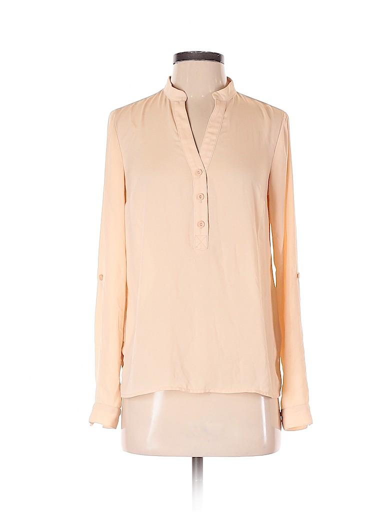 Monteau Women Long Sleeve Blouse Size S