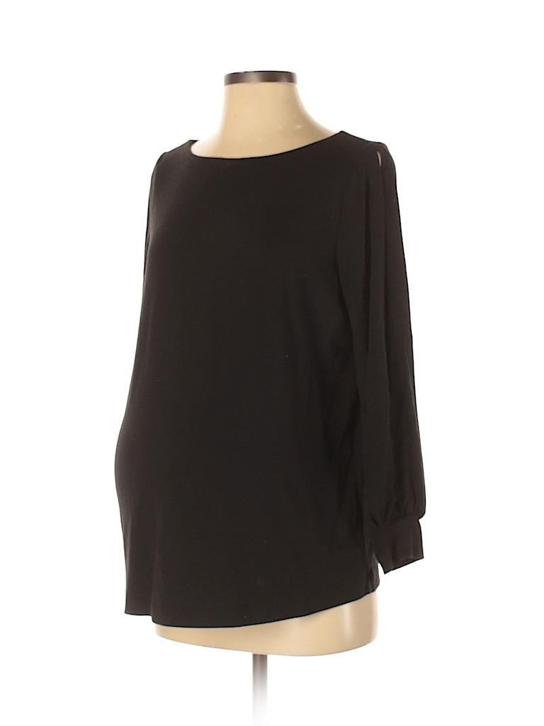 Ann Taylor LOFT Women Long Sleeve Top Size S (Maternity)