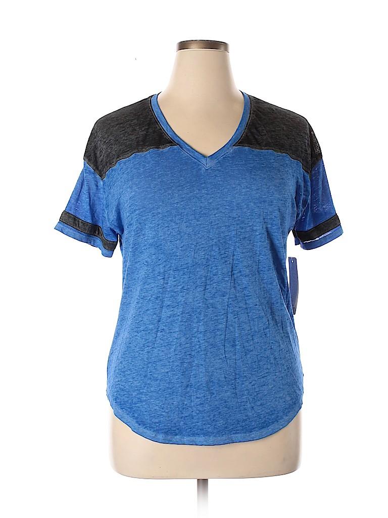 No Boundaries Women Short Sleeve T-Shirt Size XXL