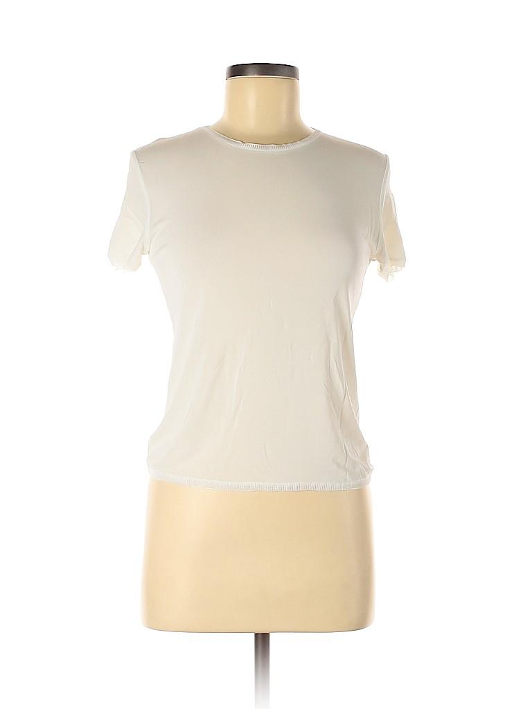 Brunello Cucinelli Women Short Sleeve T-Shirt Size L