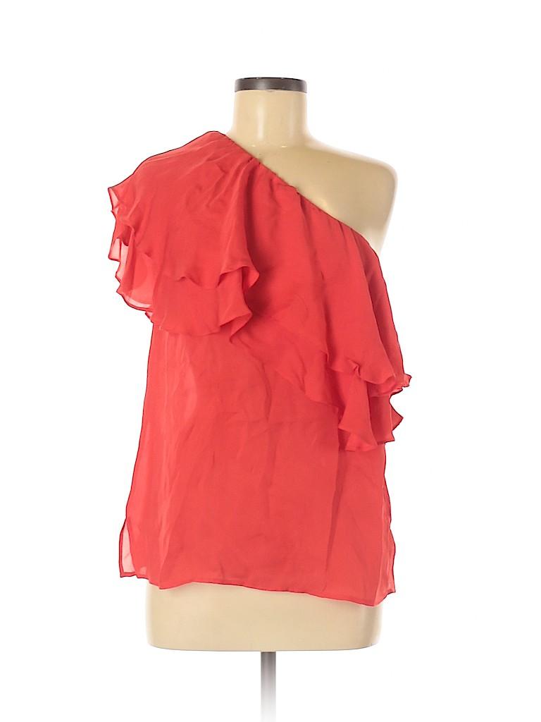 Haute Hippie Women Sleeveless Silk Top Size M