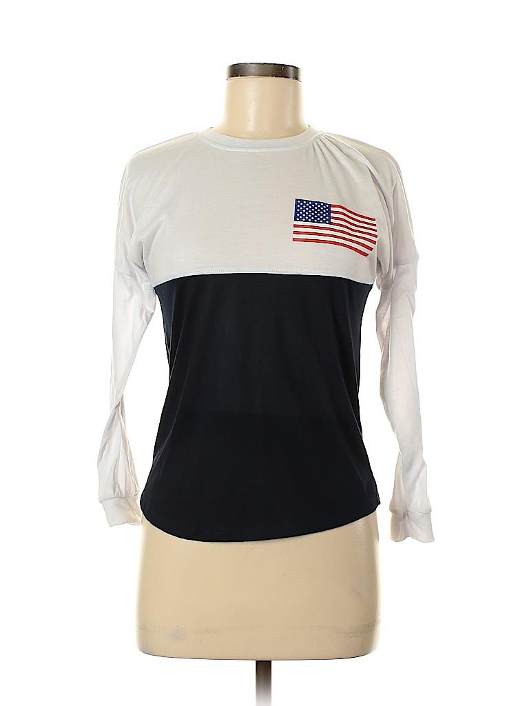 Rue21 Women Long Sleeve T-Shirt Size XS