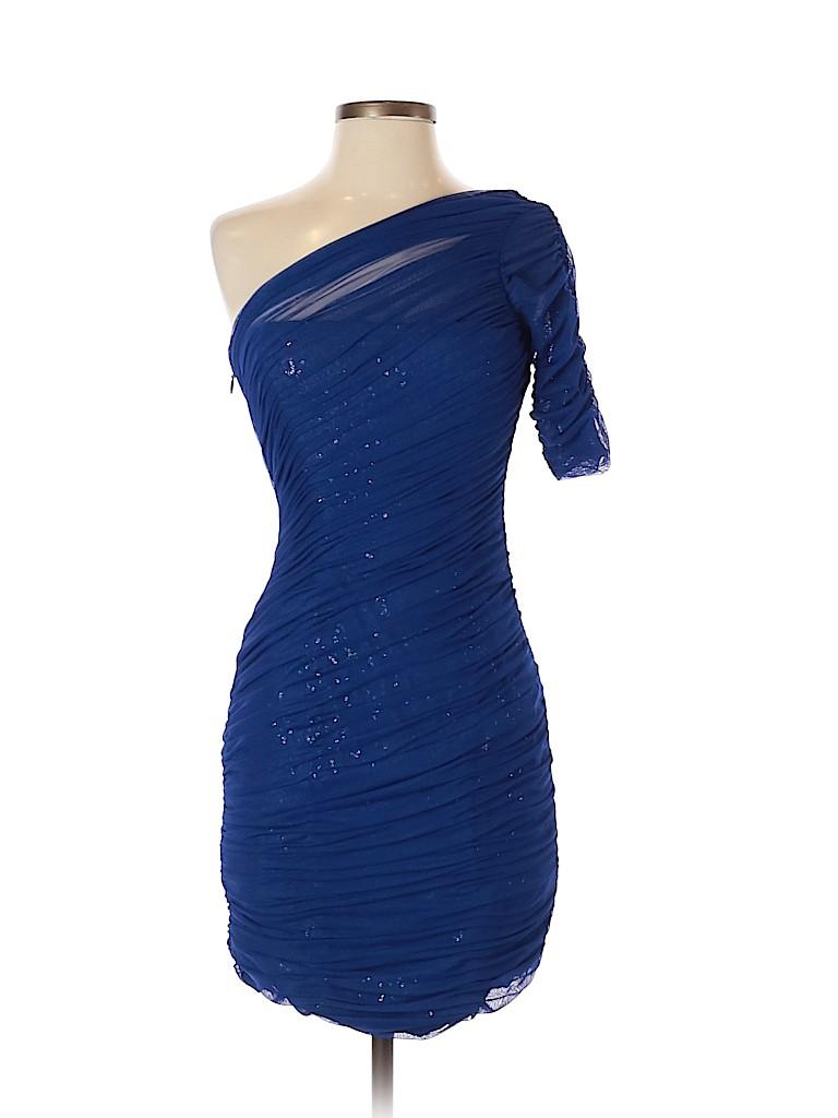BCBGMAXAZRIA Women Cocktail Dress Size 4