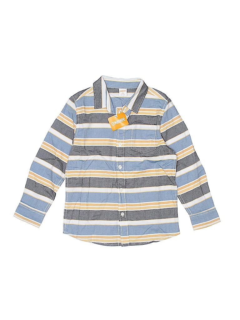 Gymboree Boys Long Sleeve Button-Down Shirt Size 5 - 6