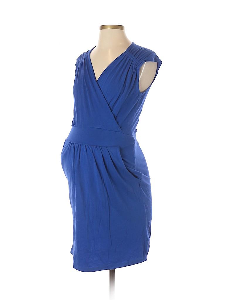 Kika Women Casual Dress Size 4 Maternity (1) (Maternity)