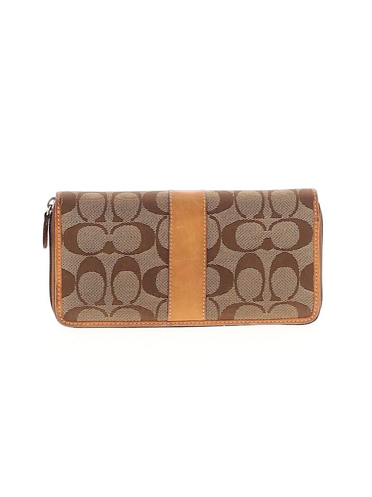 Coach Women Leather Wallet One Size