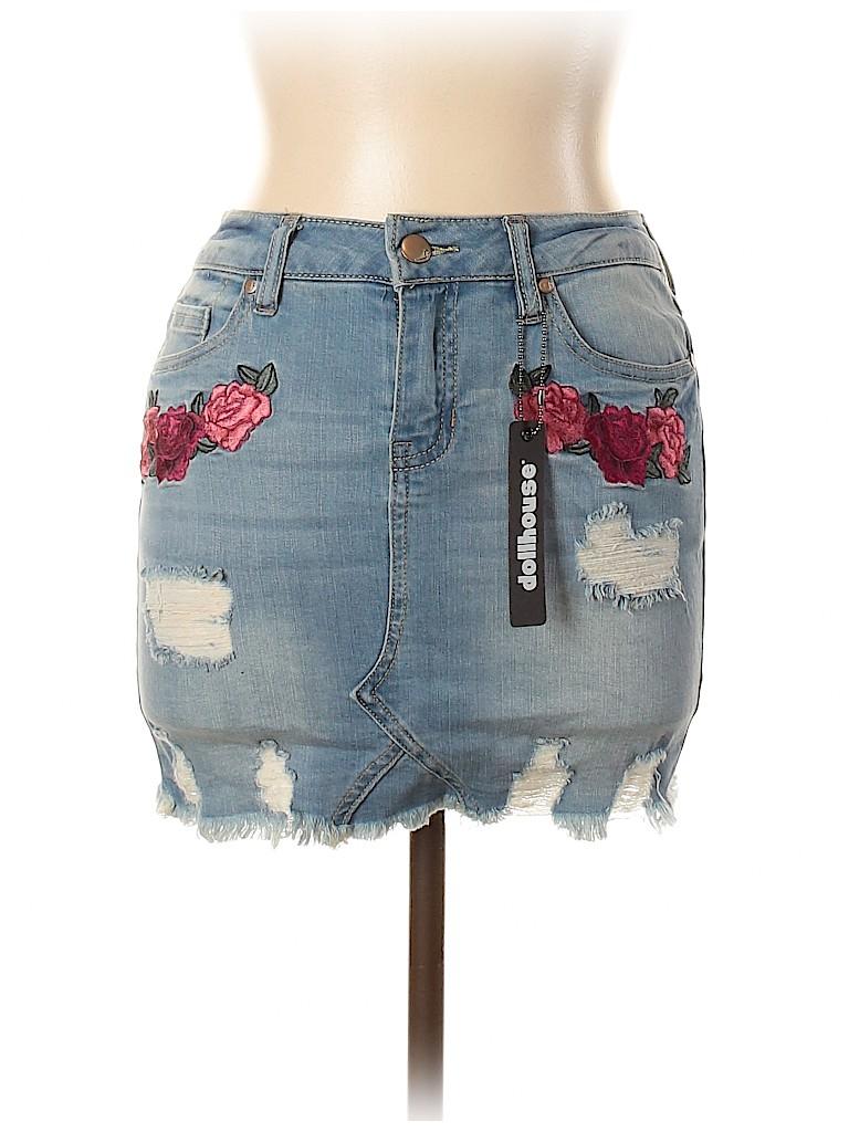 Dollhouse Women Denim Skirt Size 3