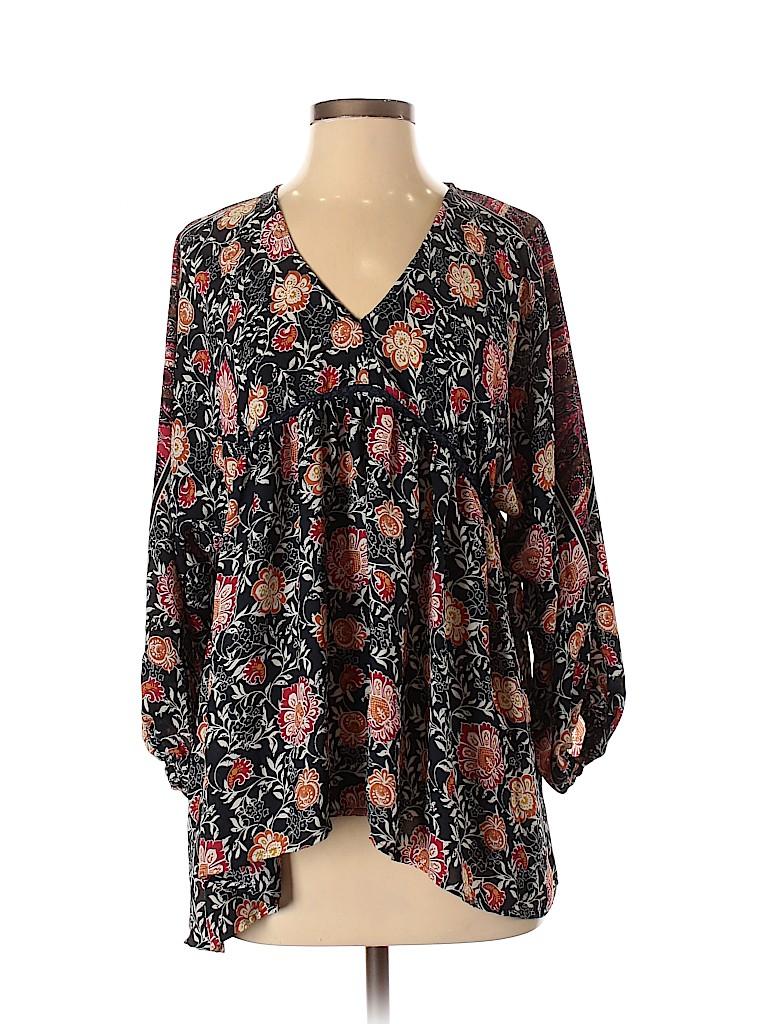 Knox Rose Women 3/4 Sleeve Blouse Size 1