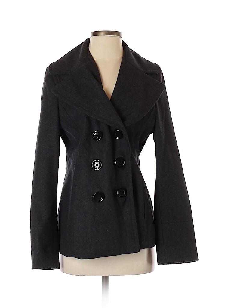 MICHAEL Michael Kors Women Wool Coat Size S