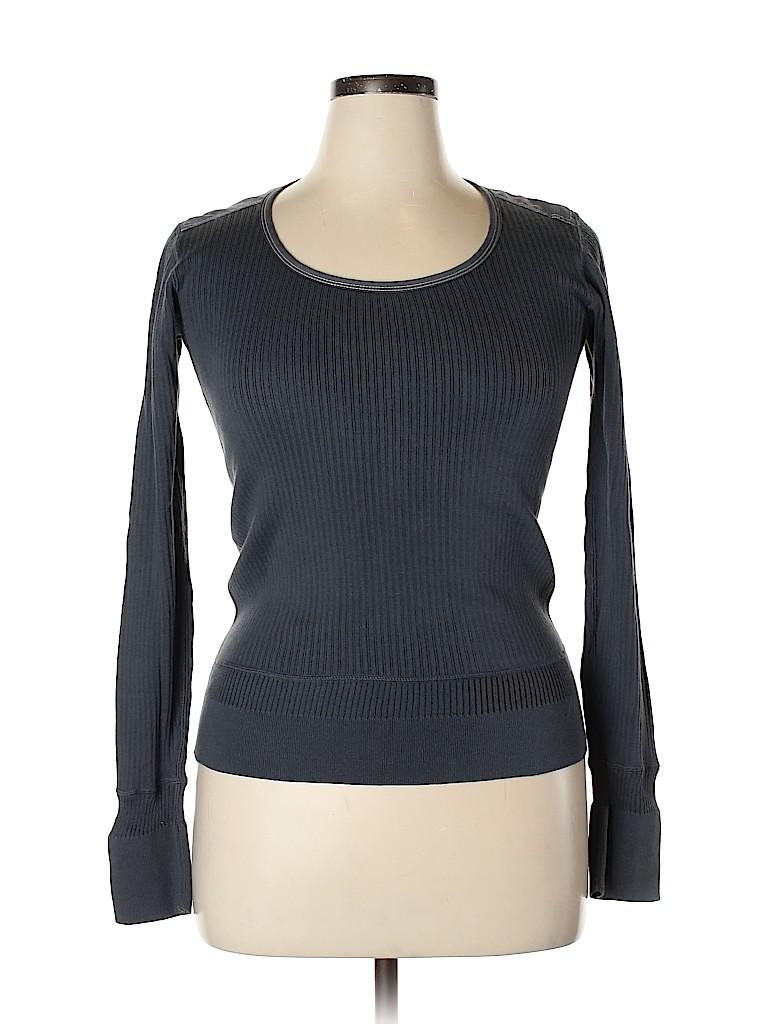 Inhabit Women Long Sleeve Top Size L