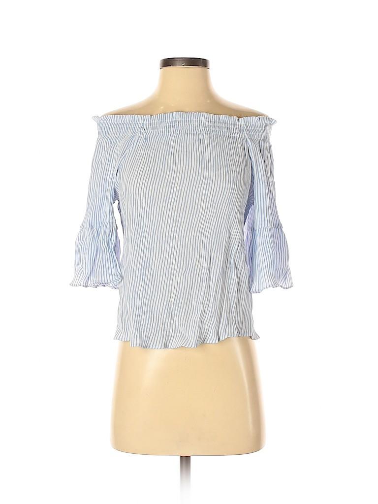 H&M Women Short Sleeve Top Size 0