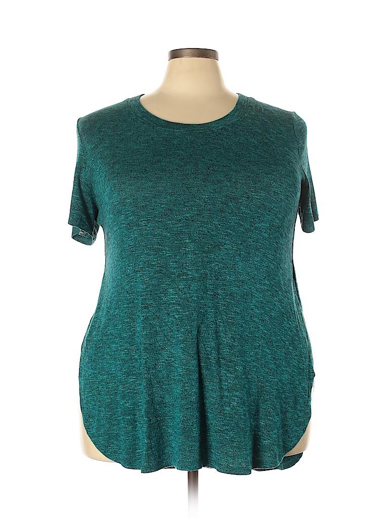 Mossimo Women Short Sleeve Top Size XXL