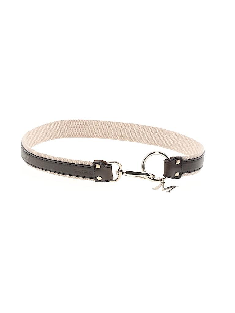 Max Mara Women Leather Belt Size 40 (IT)