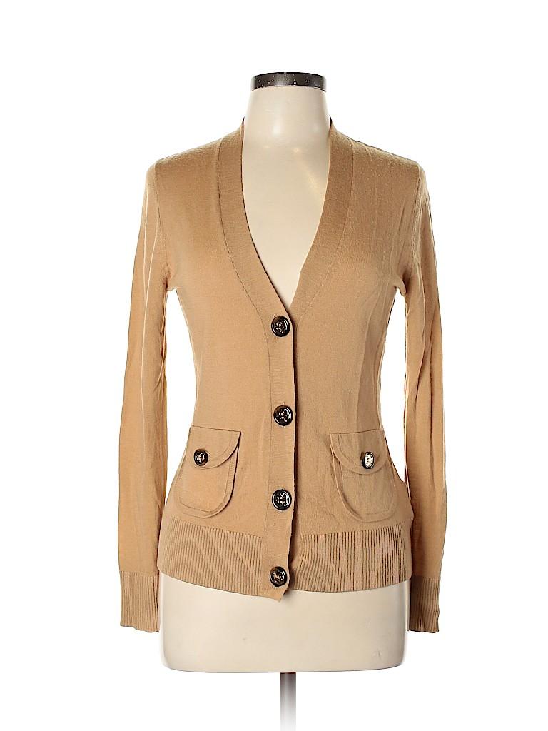 Tory Burch Women Wool Cardigan Size L