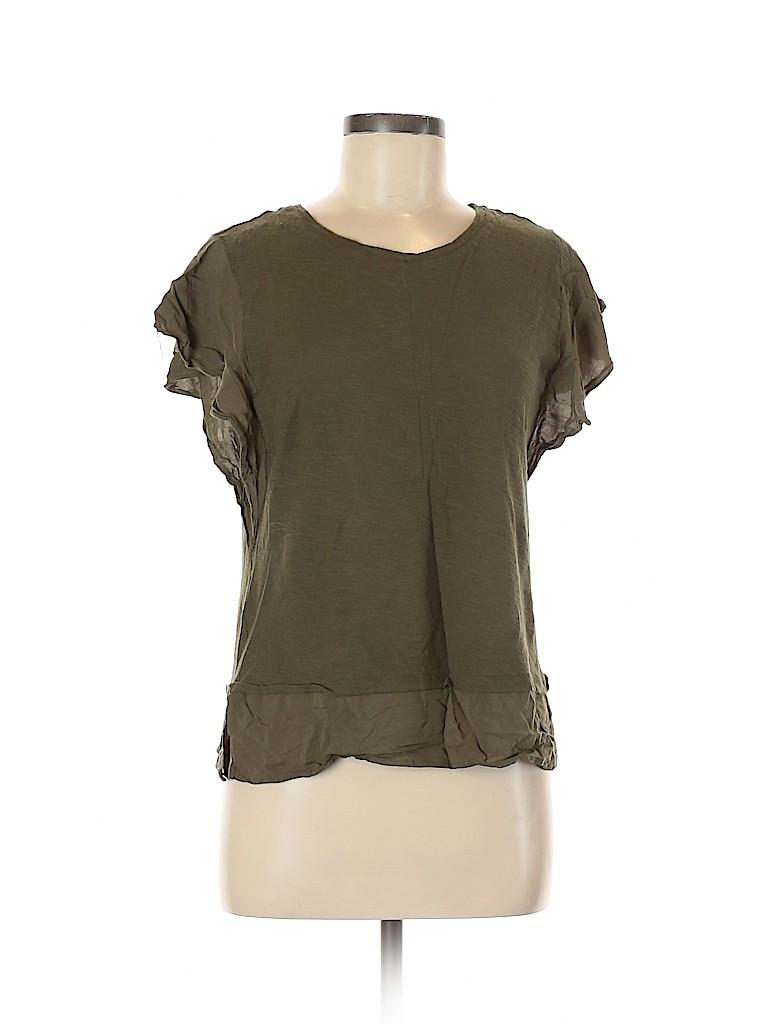 Vince Camuto Women Short Sleeve Blouse Size M