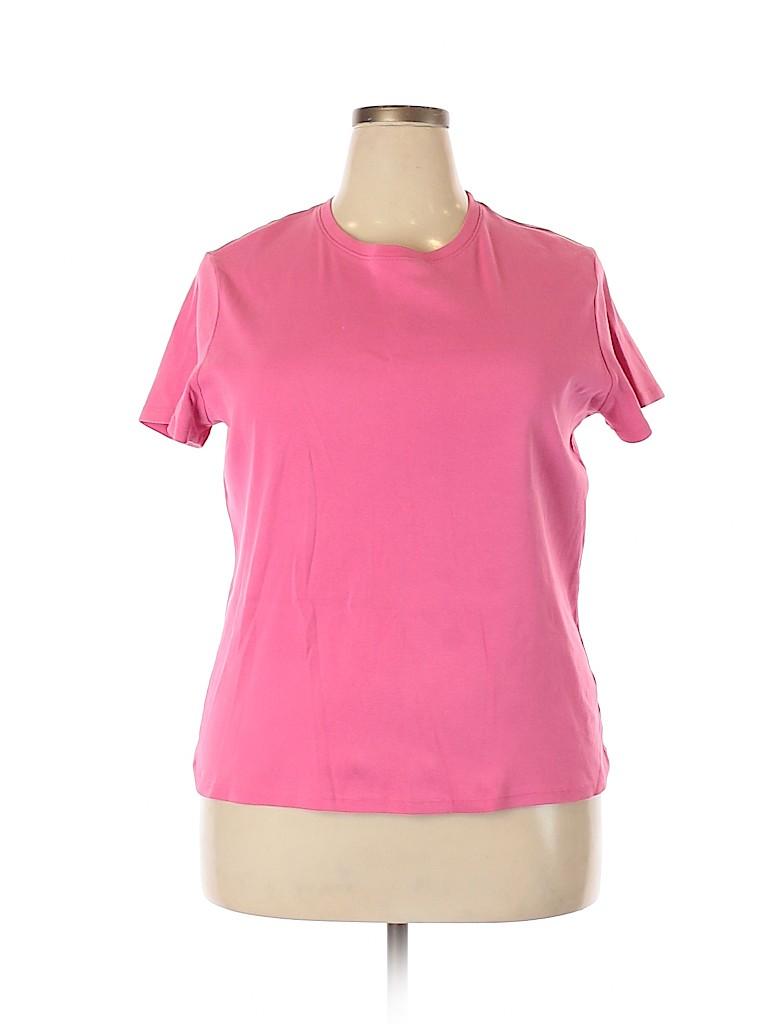 Cherokee Women Short Sleeve T-Shirt Size XXL
