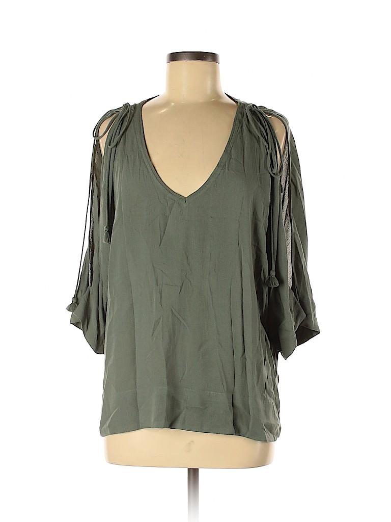Ella Moss Women 3/4 Sleeve Blouse Size M