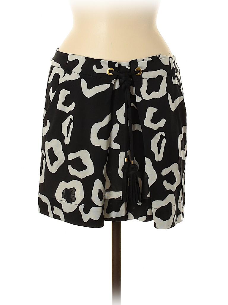 Diane von Furstenberg Women Silk Skirt Size 8