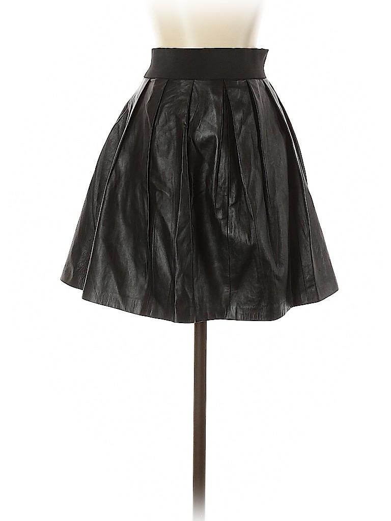 SAS Women Leather Skirt Size 2