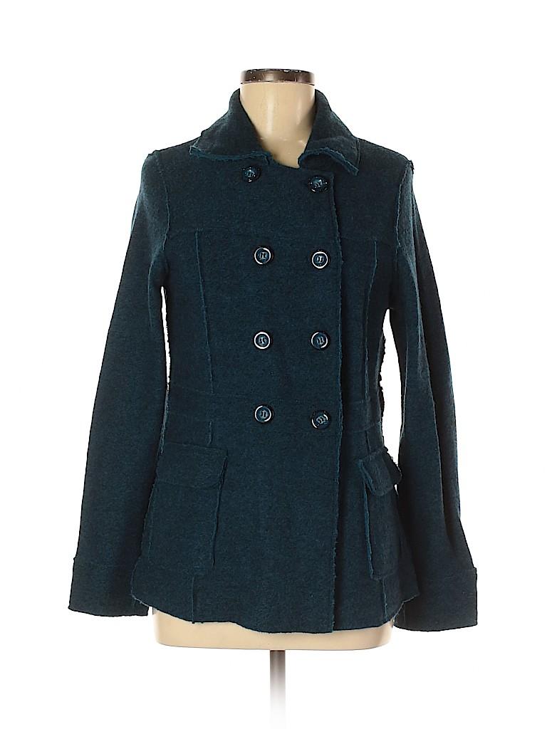 Kenar Women Wool Coat Size M