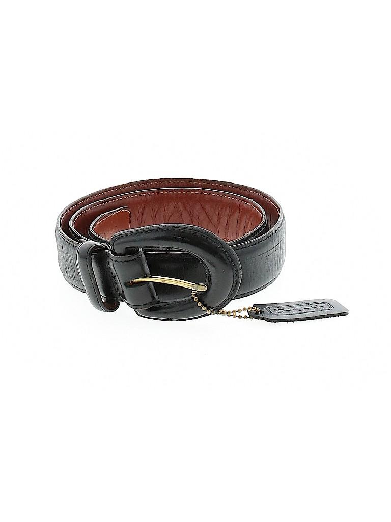 Coach Women Leather Belt Size L
