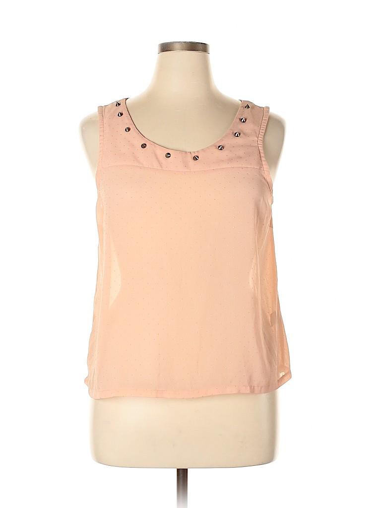 Charlotte Russe Women Sleeveless Blouse Size XL