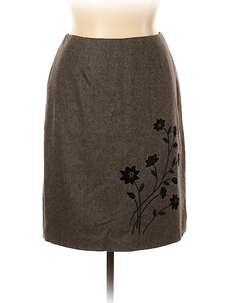 Ann Taylor Women Wool Skirt Size 14