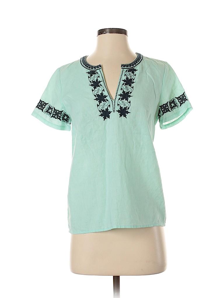 J. Crew Factory Store Women Short Sleeve Blouse Size XXS