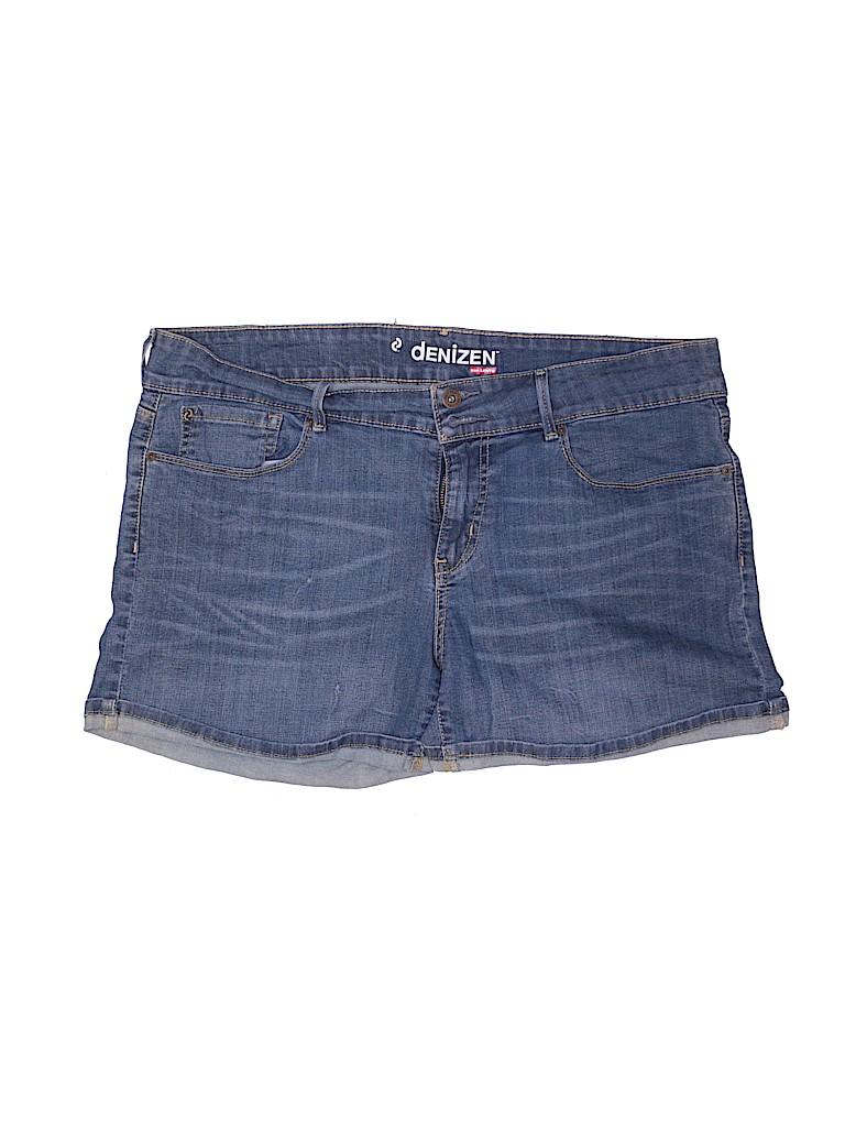 Levi's Women Denim Shorts Size 18 (Plus)