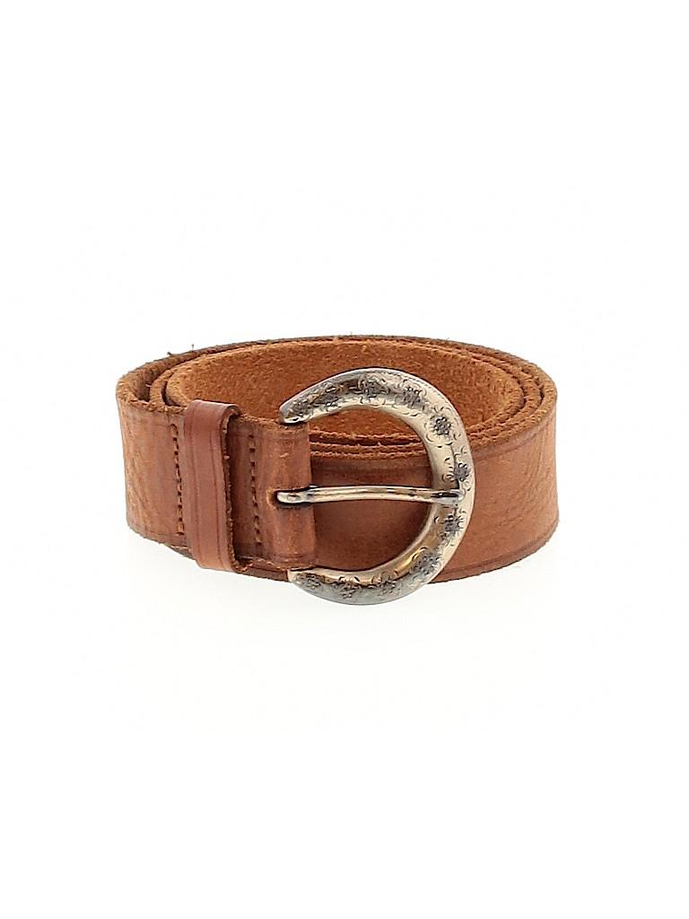 Fossil Women Leather Belt Size M