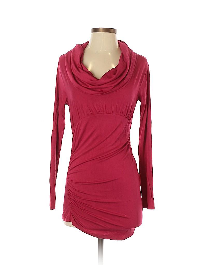 Julienne W. Women Long Sleeve Top Size S
