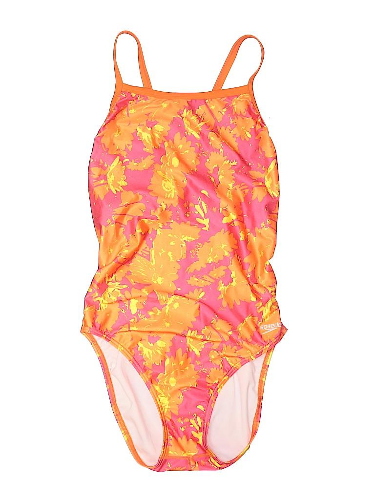 Speedo Women One Piece Swimsuit Size 14