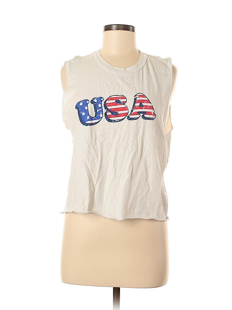 Project Social T Women Sleeveless T-Shirt Size M