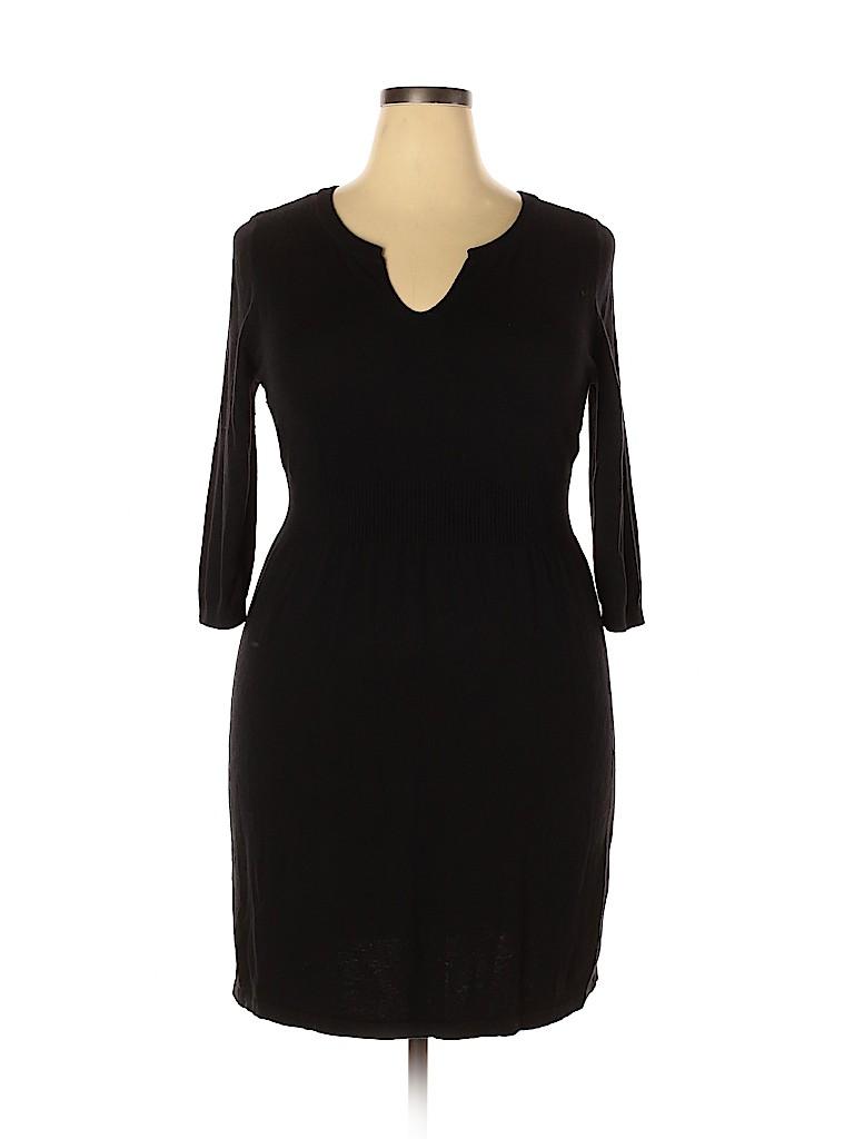 Old Navy Women Casual Dress Size 1X (Plus)
