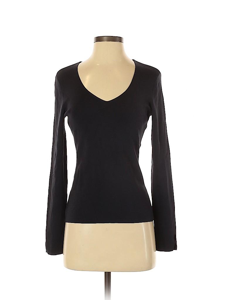 Ann Taylor Women Long Sleeve Silk Top Size XS