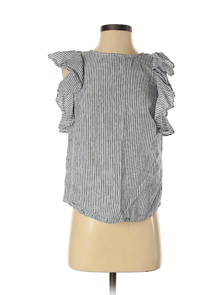 J. Crew Women Short Sleeve Blouse Size 0