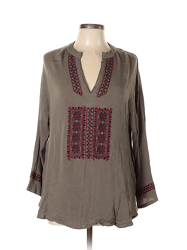 Velzera Women Long Sleeve Blouse Size XL
