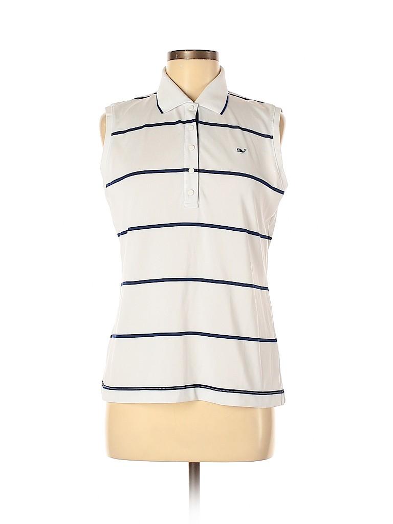 Vineyard Vines Women Sleeveless T-Shirt Size M