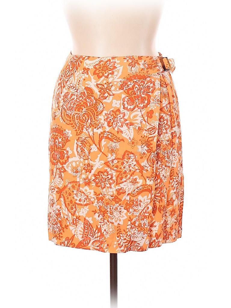 Charter Club Women Silk Skirt Size 14