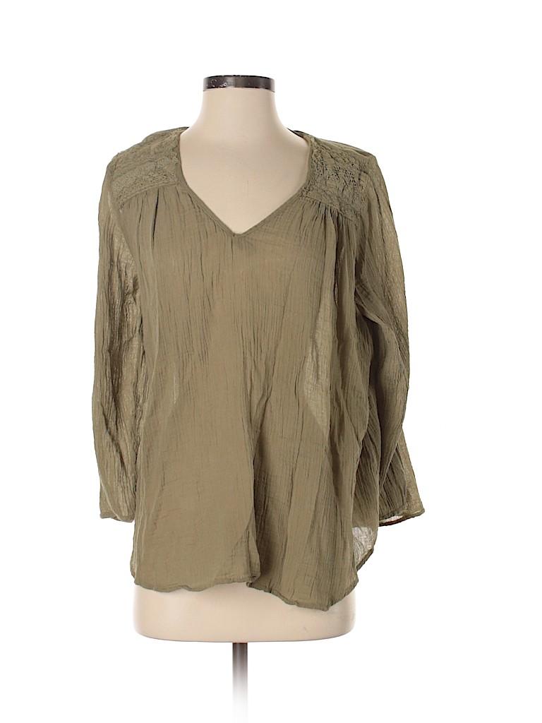 Current Elliott X Mary Katrantzou Women 3/4 Sleeve Blouse Size 1