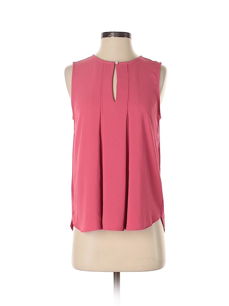 Ann Taylor Women Sleeveless Blouse Size S