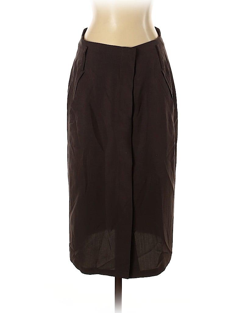 Max Mara Women Silk Skirt Size 2